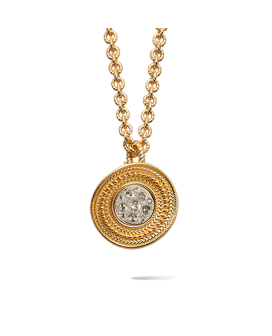 Carrera y Carrera 18kt Gold De Luces Collection Necklace DA11102 030101