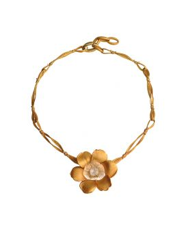 Carrera y Carrera 18kt Gold Gardenias Collection Necklace DA11560 011301