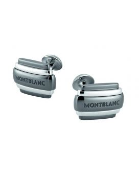 MONTBLANC SILVER COLLECTION CUFF LINKS 104499