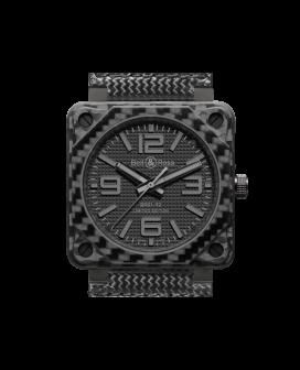 Bell And Ross Br 01-92 Carbon Fiber Phantom Watch