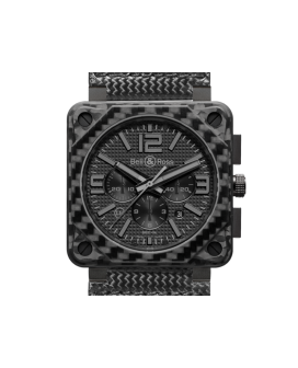 Bell And Ross Br 01-94 Carbon Fiber Phantom Watch