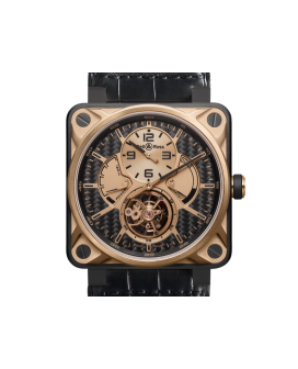 Bell And Ross Br 01 Tourbillon Pink Gold & Titanium Watch
