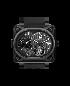 Bell And Ross Br Minuteur Tourbillon Titanium Watch