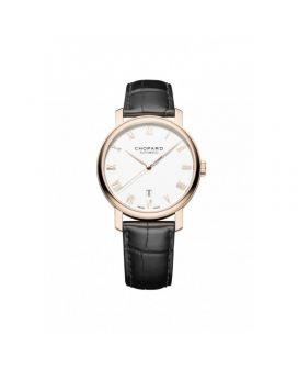 Chopard 18-Karat Rose Gold Classic Watch 161278-5005