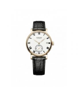 Chopard 18-Karat Rose Gold Classic Manufacture Watch 161289-5001