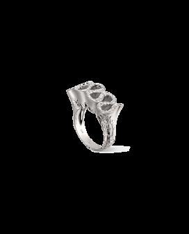 Carrera y Carrera 18kt White Gold Cervantes Collection Ring  DA13010 020101