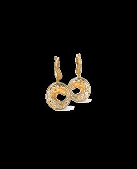 Carrera y Carrera 18kt Gold Ecuestre Collection Caballo Earrings DA13405 010101