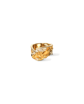 Carrera y Carrera 18kt Gold Ecuestre Collection Caballo Ring  DA13403 010101