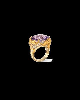 Carrera y Carrera 18kt Gold Ecuestre Collection Caballo Ring DA13400 011018