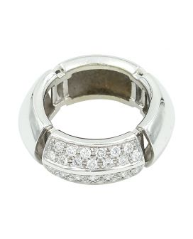 18kt White Gold Antonini Diamond Ring .50 c.t.w.