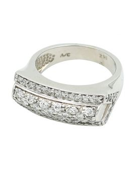 14kt White Gold Diamond Ring 1.00 c.t.w.
