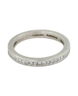 Platinum Princess Cut Diamond Eternity Band .76 c.t.w.
