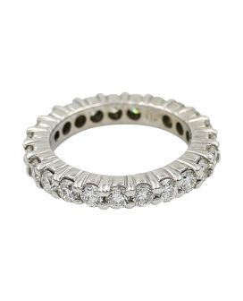 Alicia's Jewelers 14Kt White Gold Diamond Eternity Wedding Band (2.30 C.T.W.)