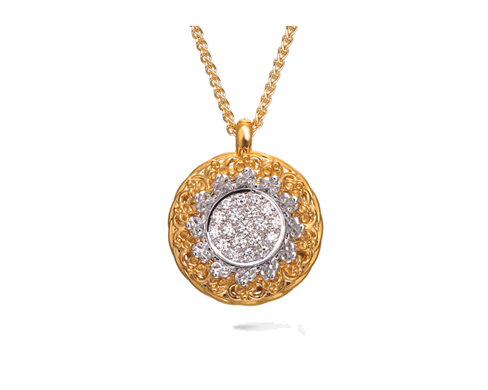 Carrera y Carrera 18kt Gold Reina Collection Necklace DA13211 030101