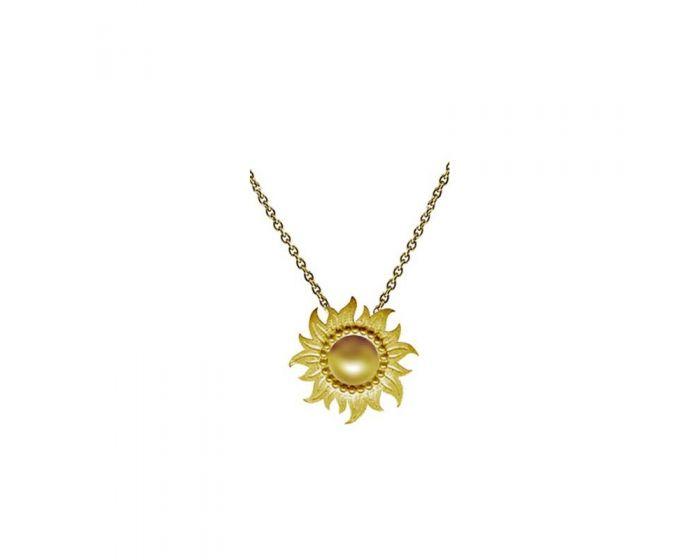 Carrera y Carrera 18kt Gold Sol y Sombra Collection Necklace DA10869 01