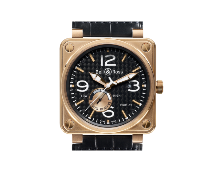 Bell And Ross Br 01-97 Pink Gold Watch