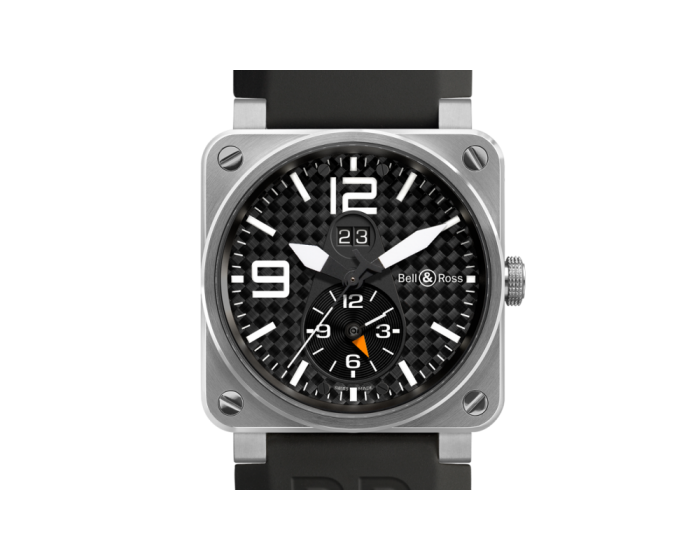 Bell And Ross Br 03-51 Gmt Titanium Watch