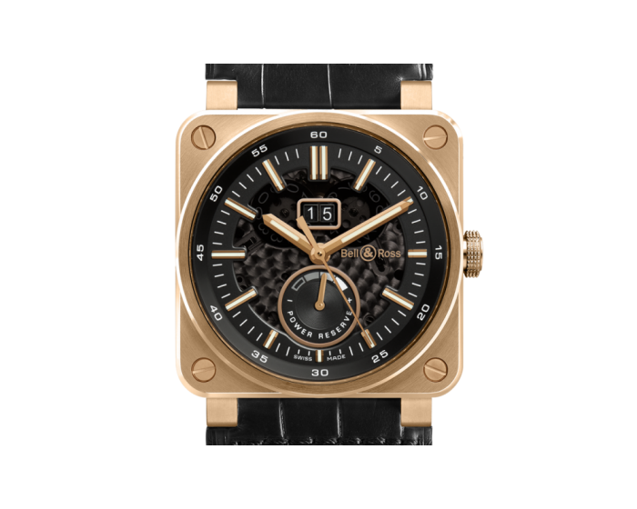 Bell And Ross Br 03-90 Rose Gold Watch