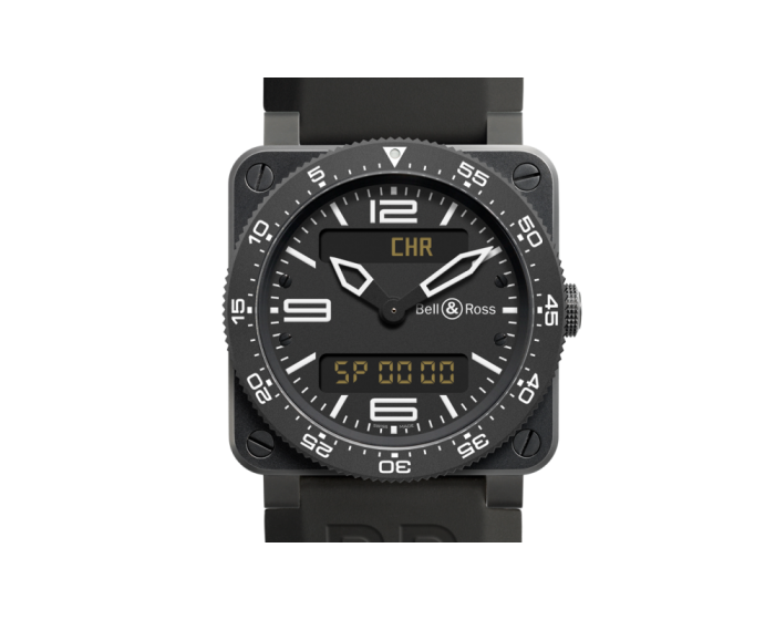 Bell And Ross Br 03-97 Type Aviation Carbon Watch