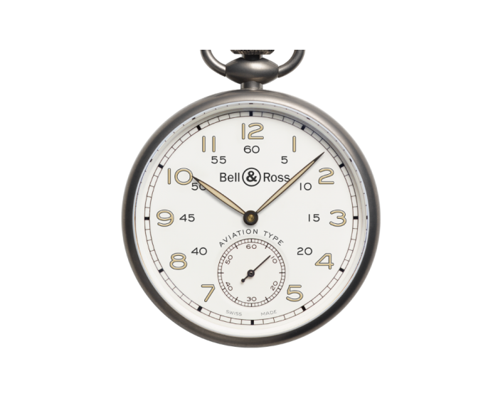 Bell And Ross Pw1 Heritage White Dial Watch