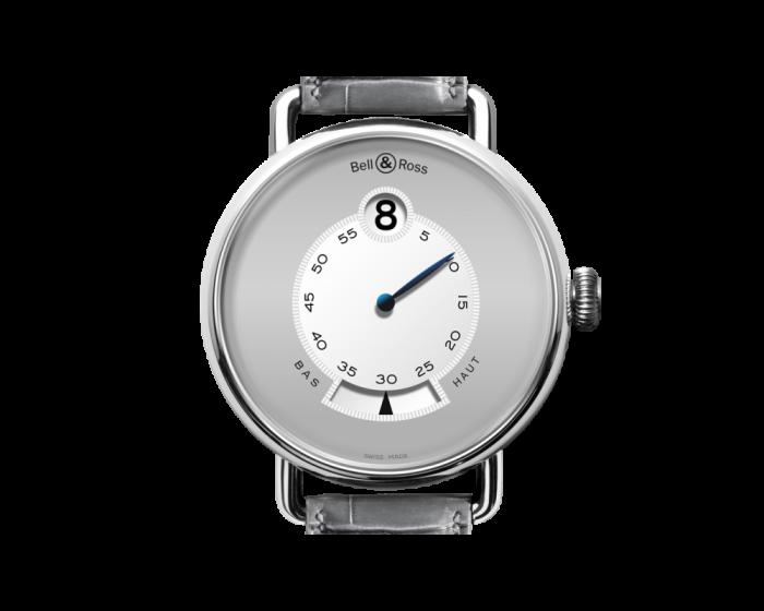 Bell And Ross Ww1 Heure Sautante Platinum Watch
