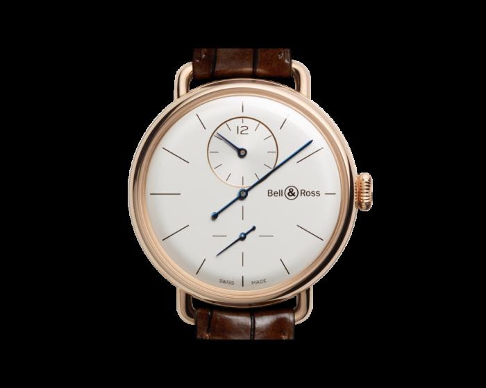 Bell And Ross Ww1 Regulateur Pink Gold Watch