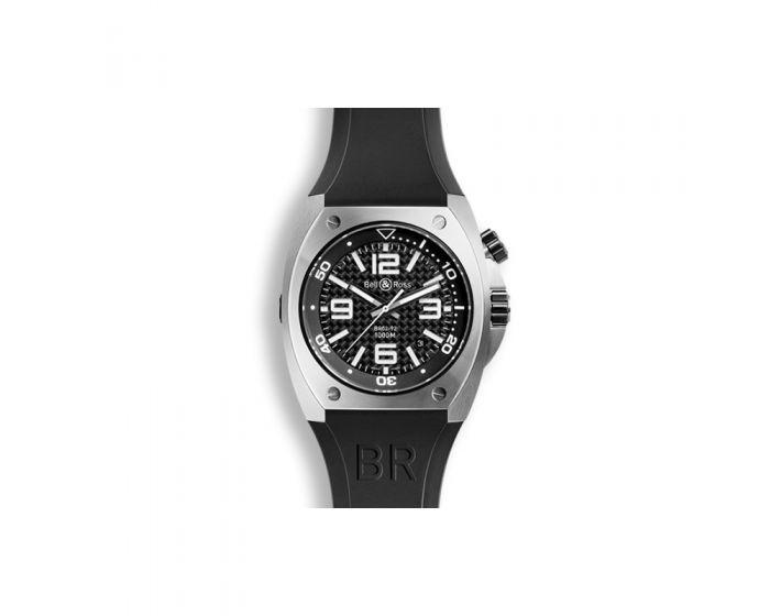 Bell And Ross  Br 02-92 Steel Fiber Watch