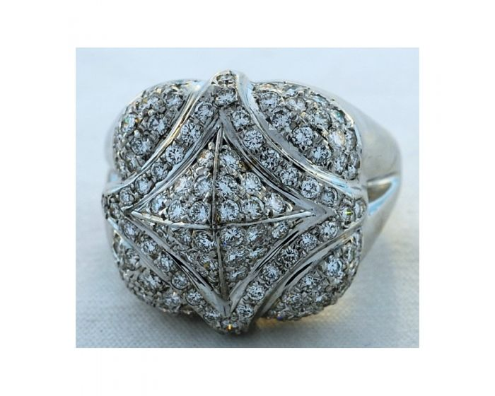 18kt White Gold Diamond Gregg Ruth Ring (1.78 ct. tw.)