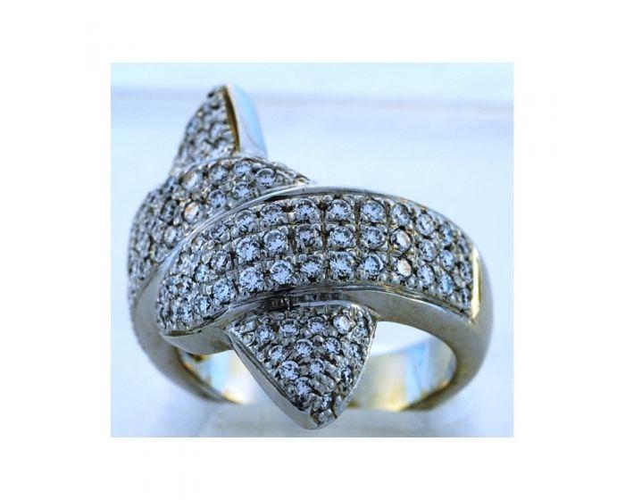 18kt White Gold Diamond Ring (1.68 ct. tw.)