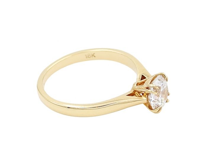 18k Rose Gold Engagement Setting